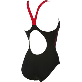 arena Shadow One Piece Swimsuit Women black-red